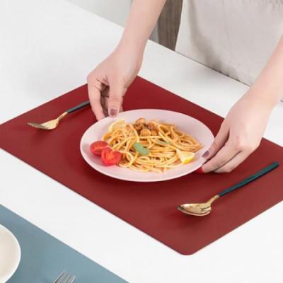 식탁의 품격 레드 테이블 매트 1개