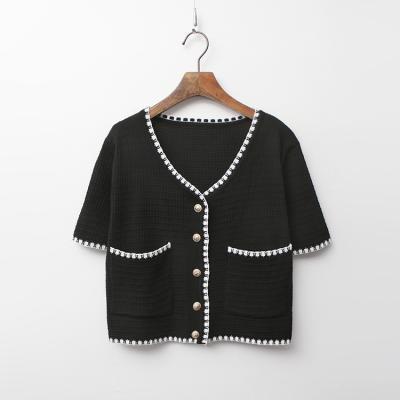 Coco Crop Knit Jacket