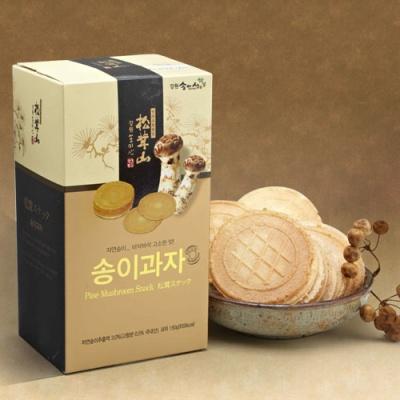 [송이향가득] 자연송이 과자 150gx2박스