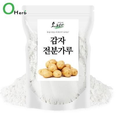 감자전분 감자가루 1kg(500gx2) 감자전분 99.9%
