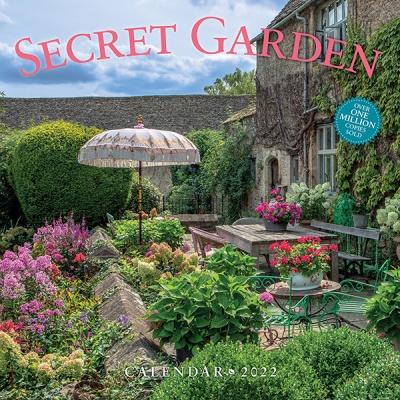 2022 캘린더 The Secret Garden