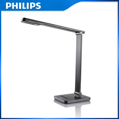 필립스 LED 학습용 스탠드 캘리퍼 71666 블랙