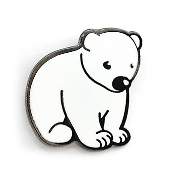 북극곰 뱃지
