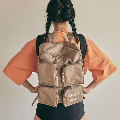 4pockets backpack_beige