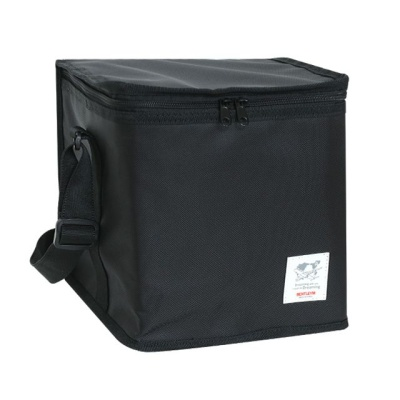 생활창고 심플한 디자인 보온보냉 가방 중 블랙