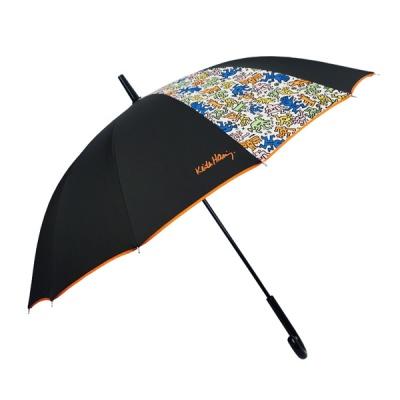 키스해링 12K 두폭패턴 장우산
