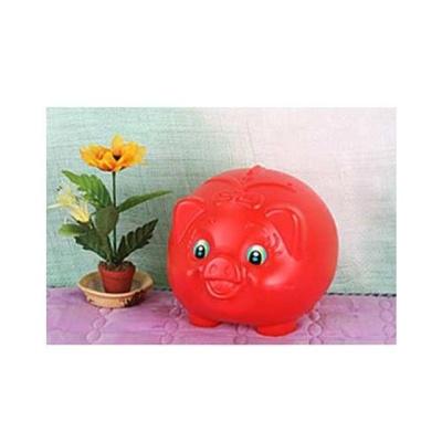 돼지 빨강 대 2호 문구용품 팬시 저금통 생활용품