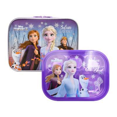 겨울왕국2 예쁜가방 스텐 식판세트/FRO5725