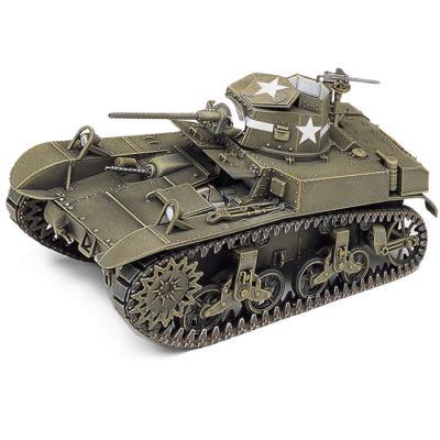 HOBBY MODEL KITS 미군 M3 스튜어트허니 경전차 탱크