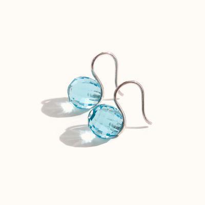 제이로렌 M01406 세레니티 블루 지르코니아 귀걸이