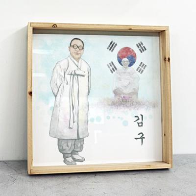 tf853-우드프레임액자_우리나라의위인