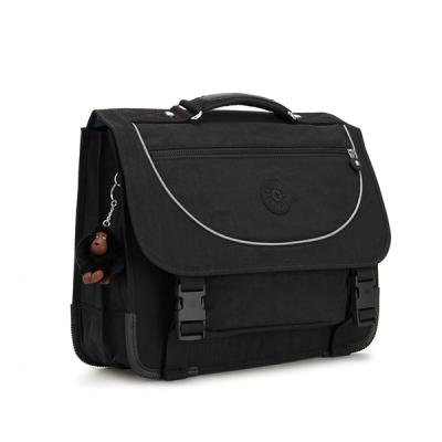 키플링 PREPPY Medium schoolbag True Black