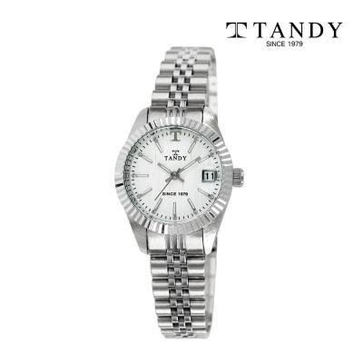 탠디 럭셔리 메탈 손목시계 T-3921 여자 빈티지화이트