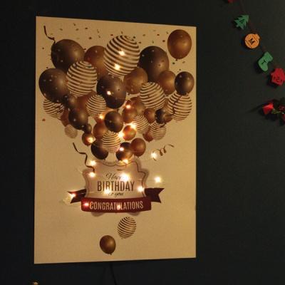 포스터월트리 초간편 설치 크리스마스 LED 벽트리