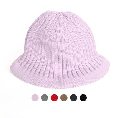 [디꾸보]미니 골지 비니 모자 AC678