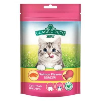 고양이간식 캣트릿 연어 80g 사료대체 영양보충
