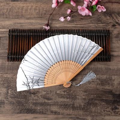 대나무 접이식 대나무 부채 / 전통부채