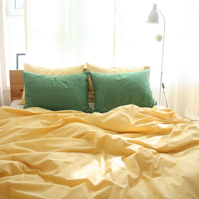 hello,green bedding set (S/SS)