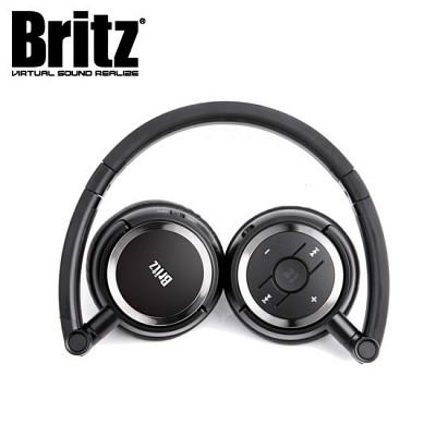 브리츠 무선 블루투스 헤드폰 W670BT (통화+음악 / 고감도 마이크 / 40mm  풀레인지 드라이버 / 2.5mm-3.5mm AUX 외부입력 케이블 / 밴드 접이식 / 충전)