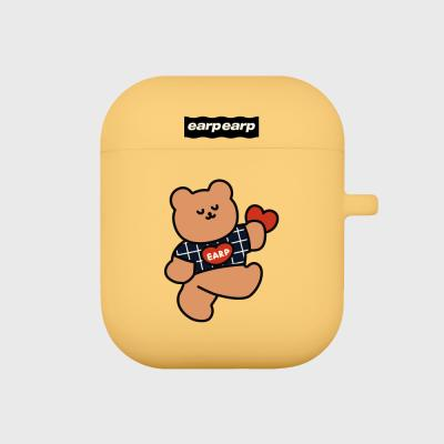 Dot dancing bear-yellow(Air pods)