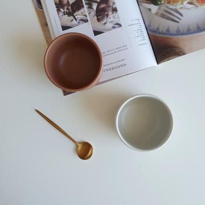 포홈 모던무광 후식볼 그릇 (4color)