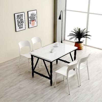 M6268 1000 스틸 사출 카페 테이블