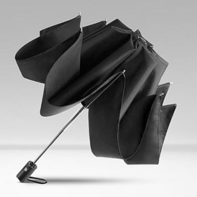 빗물에 젖지 않는 거꾸로 자동 우산