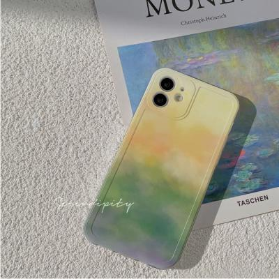 아이폰 케이스 12 11 프로 맥스 X 8 소프 그라데이션