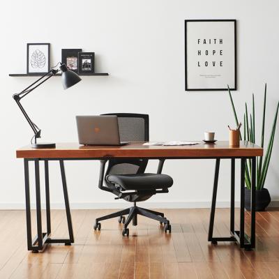 코디 2000x600 우드슬랩 책상 원목 테이블