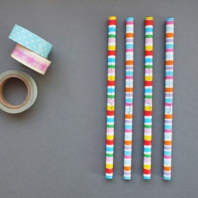 롤리롤리 연필세트 (4본/B심)