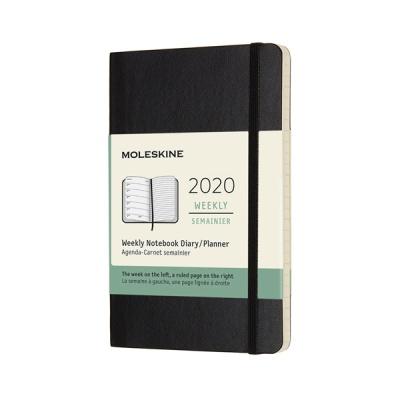 몰스킨 2020위클리/블랙 소프트 P