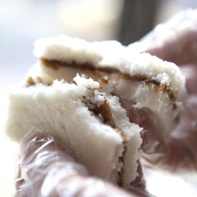 [착한떡] 우유꿀백설기 50개입