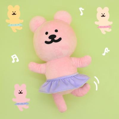 [한톨상점]발레반곰이 납작인형
