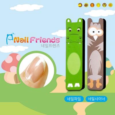 네일파일 and 샤이너 (Mini Friends-하미 and 바미)