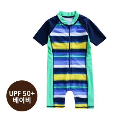 [베이비수영복] 네온ST수영복_(UPF50+) 영유아수영복 수트수영복