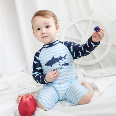 바닷속 상어 유아 래쉬가드(1-6세) 203809
