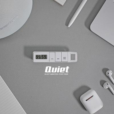 수험생 스터디 무소음 진동기능 목걸이 타이머 QUIET