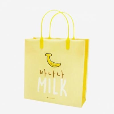 포포팬시 밀크 비닐 쇼핑백