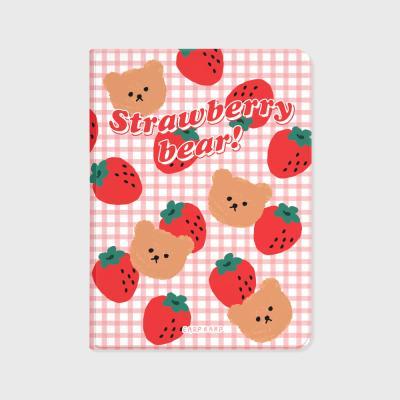 Big strawberry bear-pink(아이패드-커버)