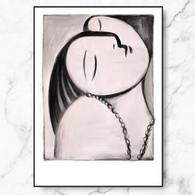 인테리어 액자 Picasso Woman Inspiration