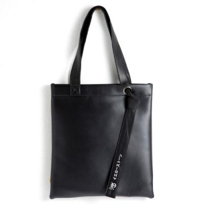 [옐로우스톤] 가죽 숄더백 LEATHER KNOTS BAG -YS2057BP 블랙