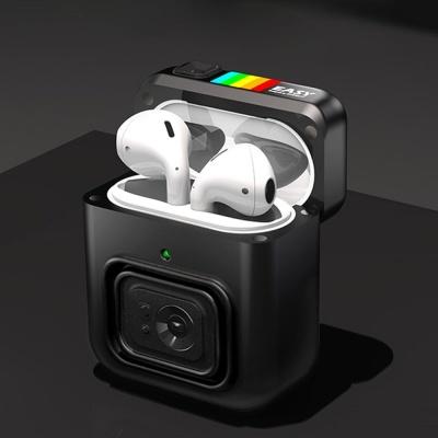 에어팟1 2 레트로 카메라 자석커버 실리콘케이스/키링