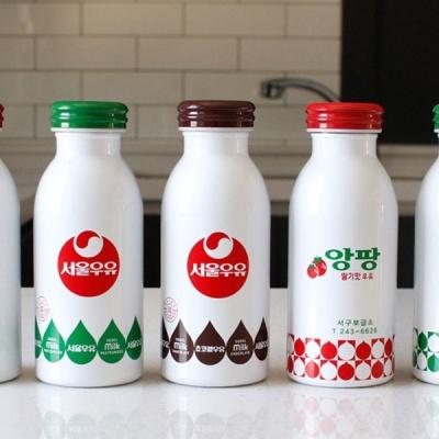 [2HOT] 서울우유 레트로 보온보냉 텀블러