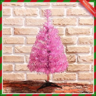 60cm 핑크 반짝이 트리스마스 트리 성탄트리