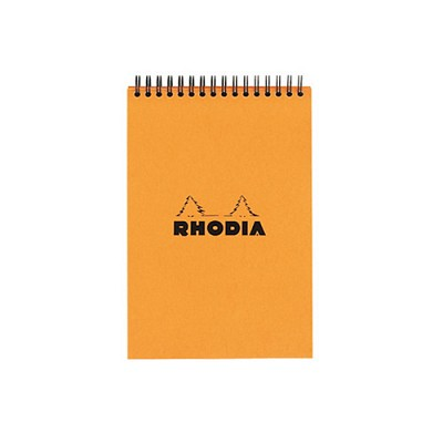 로디아 클래식 스프링 패드A6 오렌지 격자(13500)