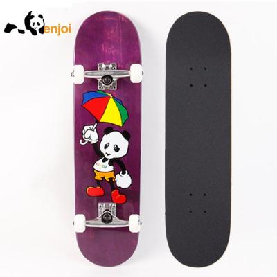 [ENJOI] CARTOON PANDA PURPLE STANDARD COMPLETE 8.0