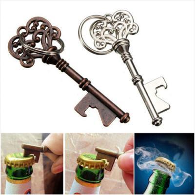 빈티지 하트 병따개 열쇠고리 1개(색상랜덤)