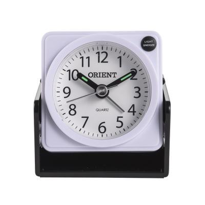 오리엔트 여행용 OT1542 화이트 미니알람시계