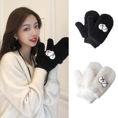디코 귀여운 벙어리 겨울 털장갑