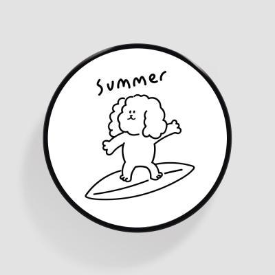 Tok 서핑 더기 화이트